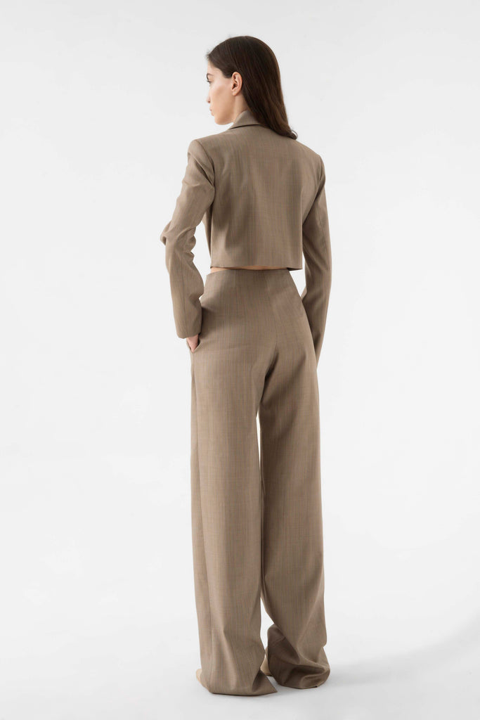 Open back jumpsuit - Materiel