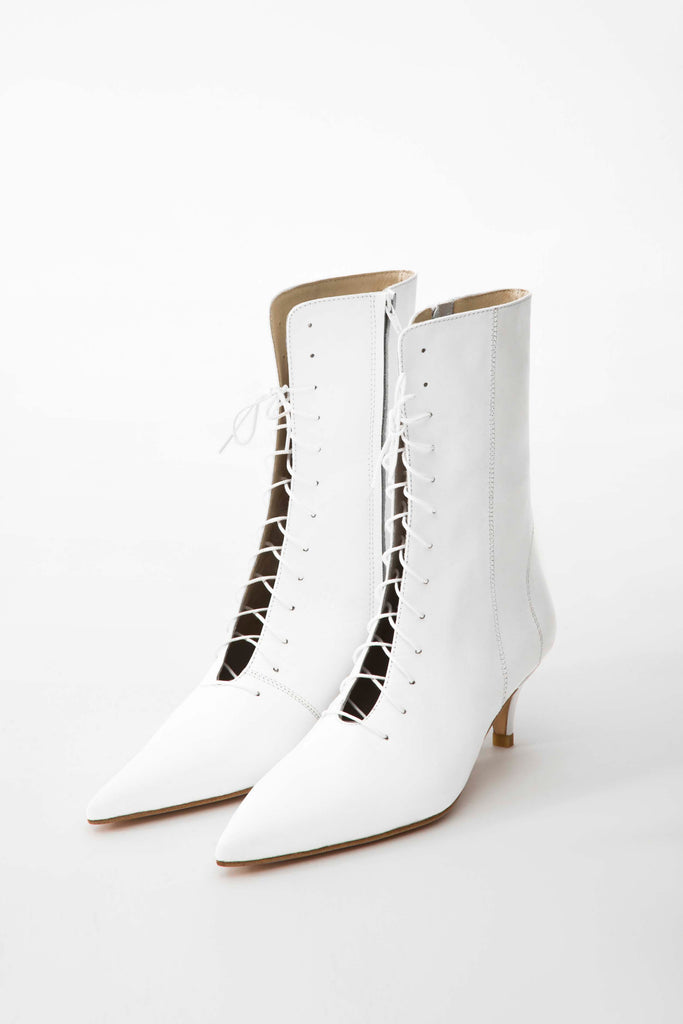 Ankle boots with laces - Materiel