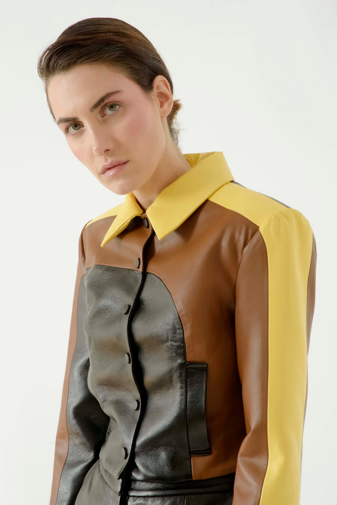 Multi leather jacket - Materiel