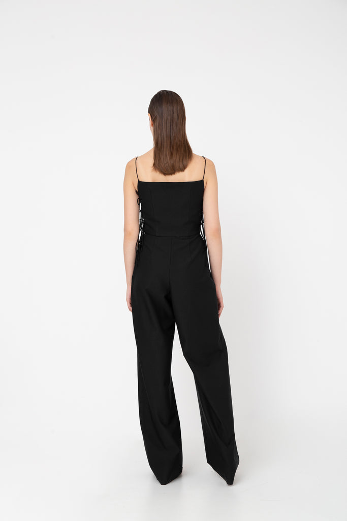 Side strap jumpsuit - Materiel