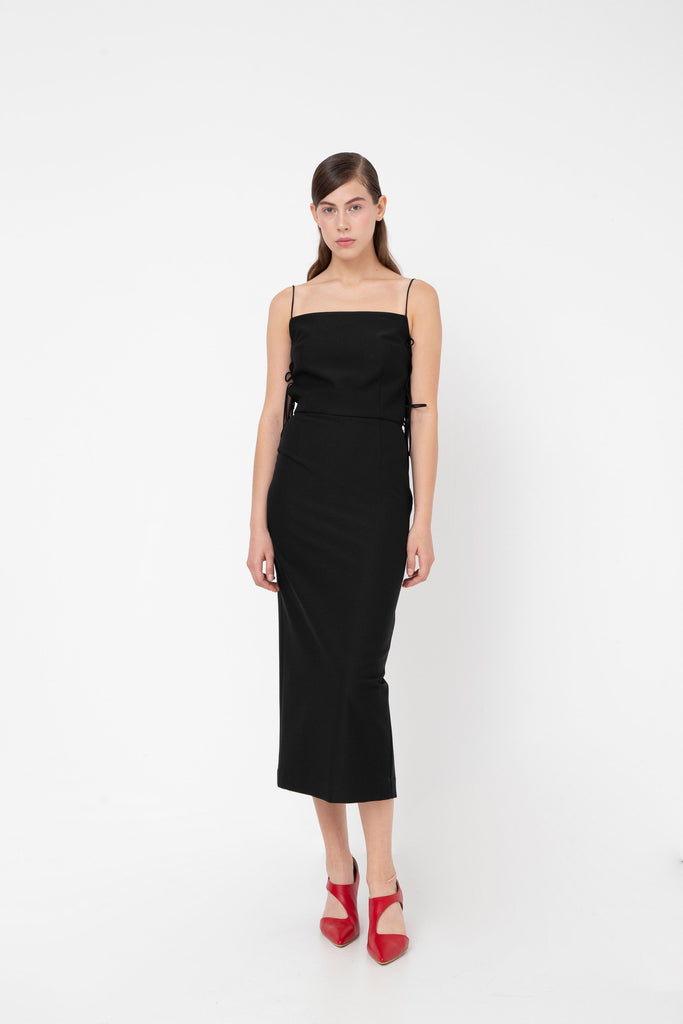Side strap dress - Materiel