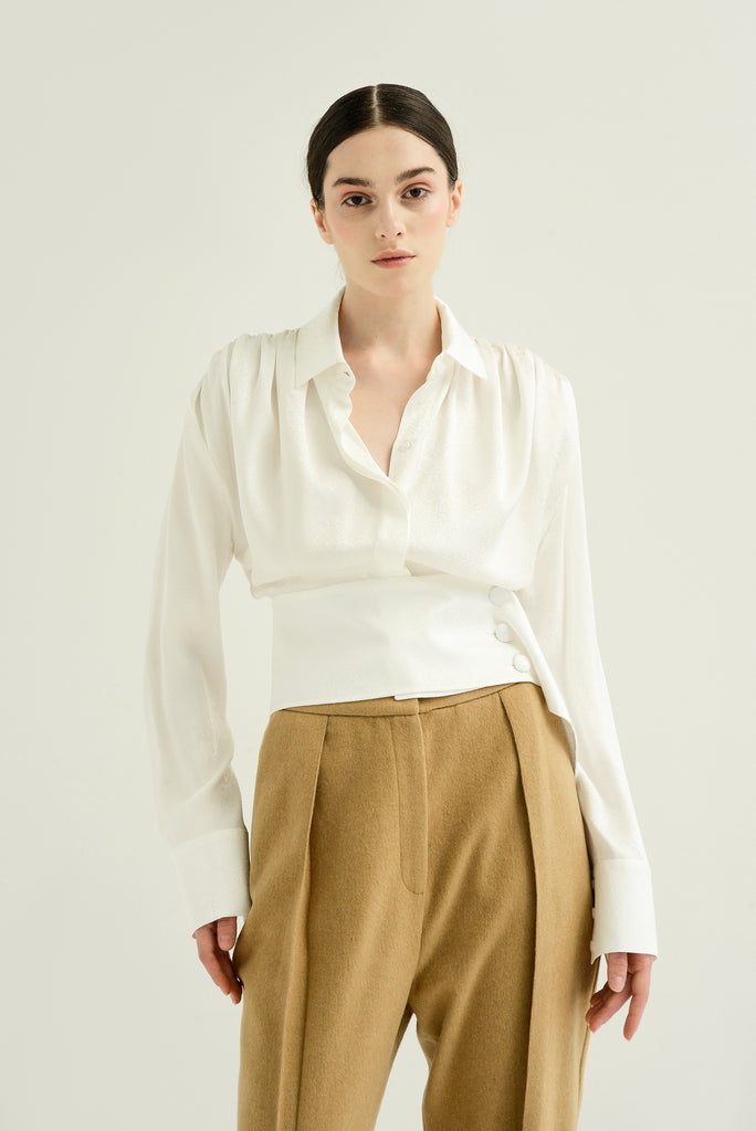 Cropped shirt - Materiel