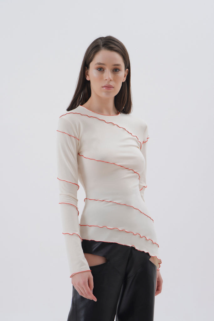 Exposed Seam Top - Materiel