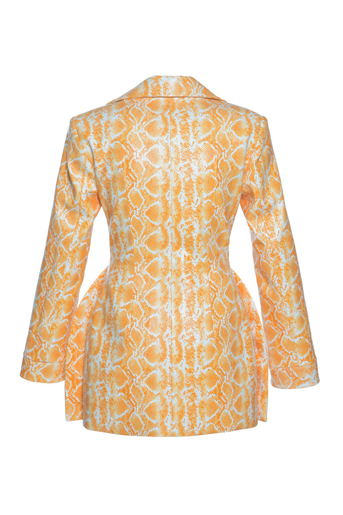 Faux Python Blazer Dress - Materiel