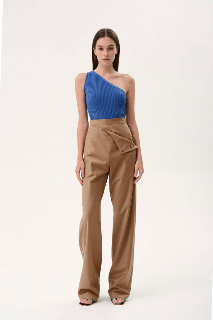 SIDE BUTTON PANTS - Materiel