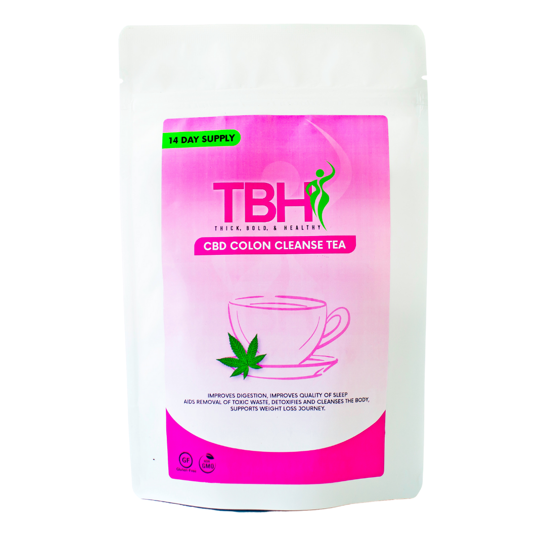 Pre-Sale: CBD Colon Cleanse Tea - 14 Day Supply