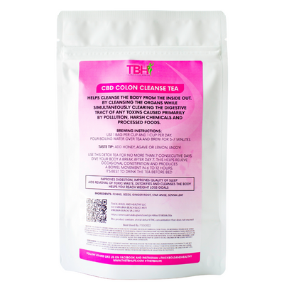 Colon Cleanse Tea - 14 Day Supply