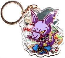Load image into Gallery viewer, Beerus & Whis KeyCharm
