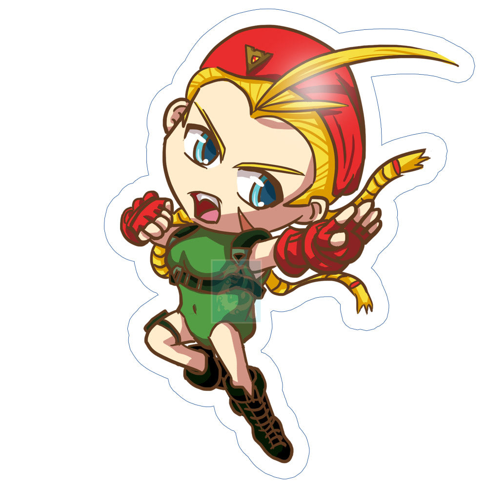 Cammy Sticker