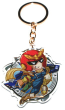 Load image into Gallery viewer, Snake & Captain Falcon KeyCharm