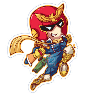 Captain Falcon Sticker