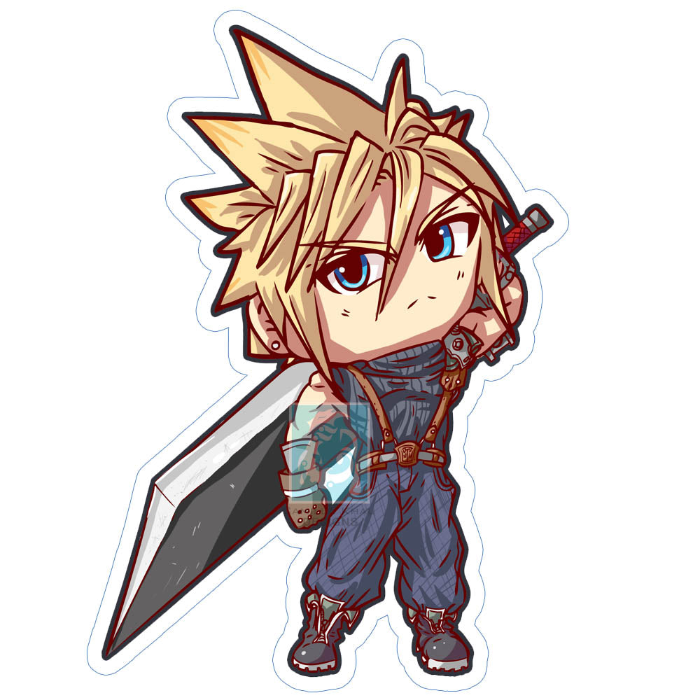 Cloud Sticker
