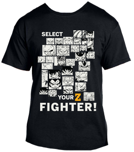 Select your Z Fighter!