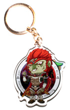 Load image into Gallery viewer, Young Link & Ganondorf  KeyCharm