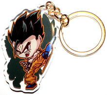 Load image into Gallery viewer, Adult Gohan & Teen Gohan KeyCharm