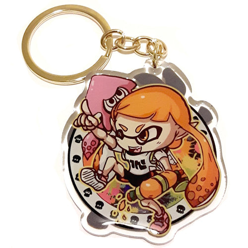 Inkling (Boy & Girl) KeyCharm