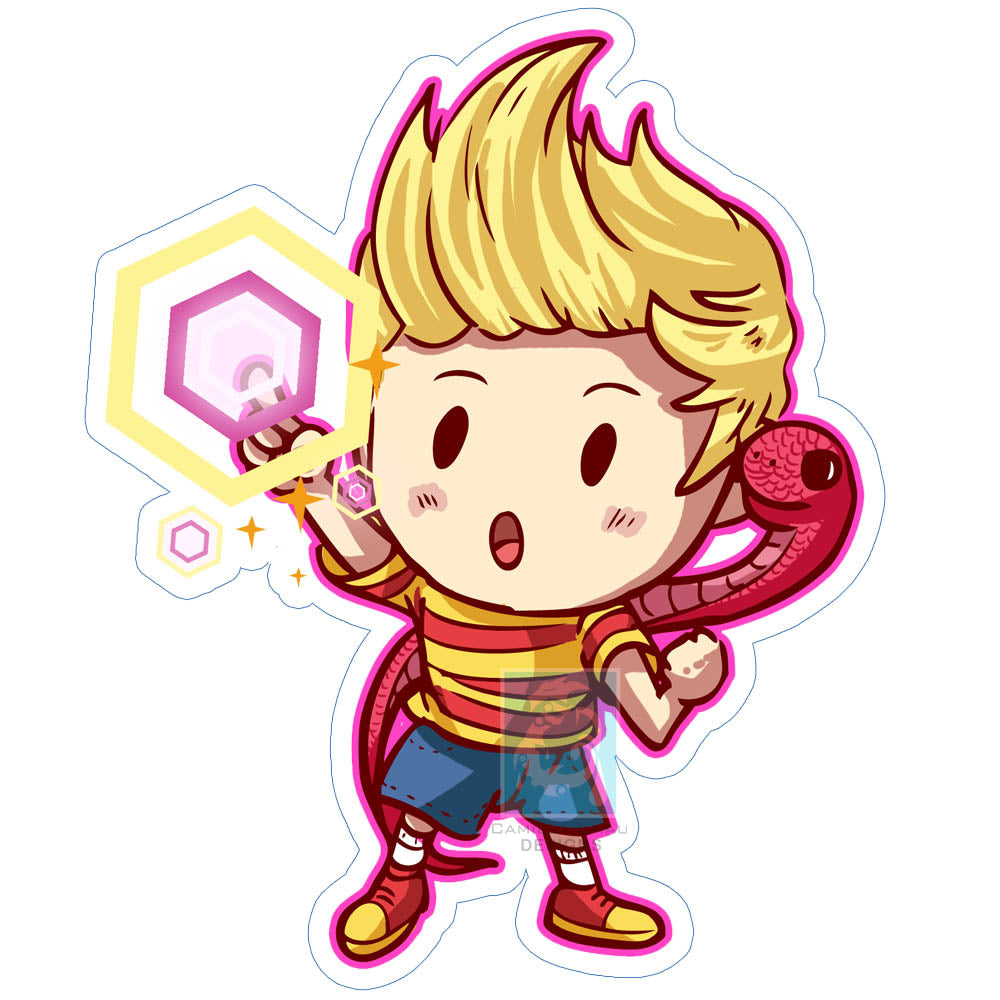 Lucas Sticker