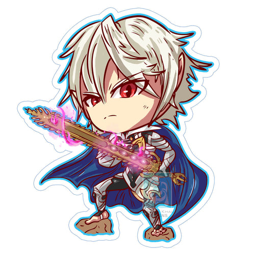 Male Corrin Sticker