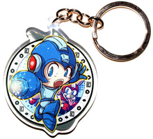 Load image into Gallery viewer, Sonic & Megaman Keycharm