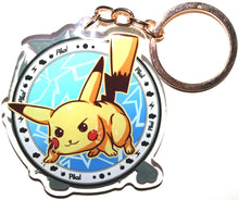 Load image into Gallery viewer, Pikachu & Mewtwo KeyCharm