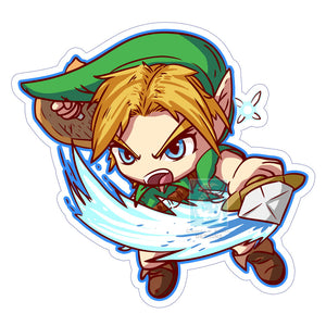 Young Link Sticker