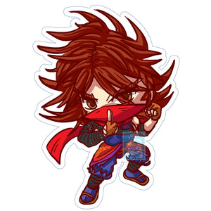 Zeku (Young) Sticker