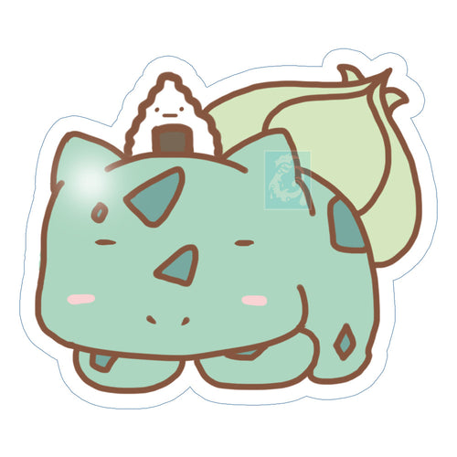 Chibi Bulbasaur Sticker