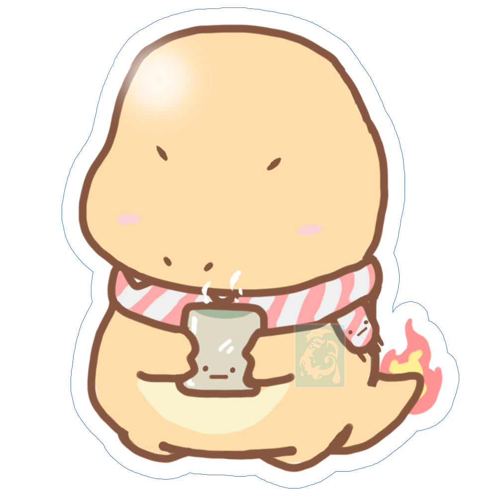 Chibi Charmander Sticker