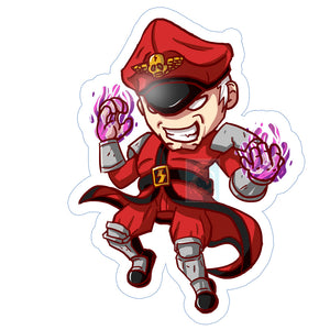 M.Bison (Dictator) Sticker