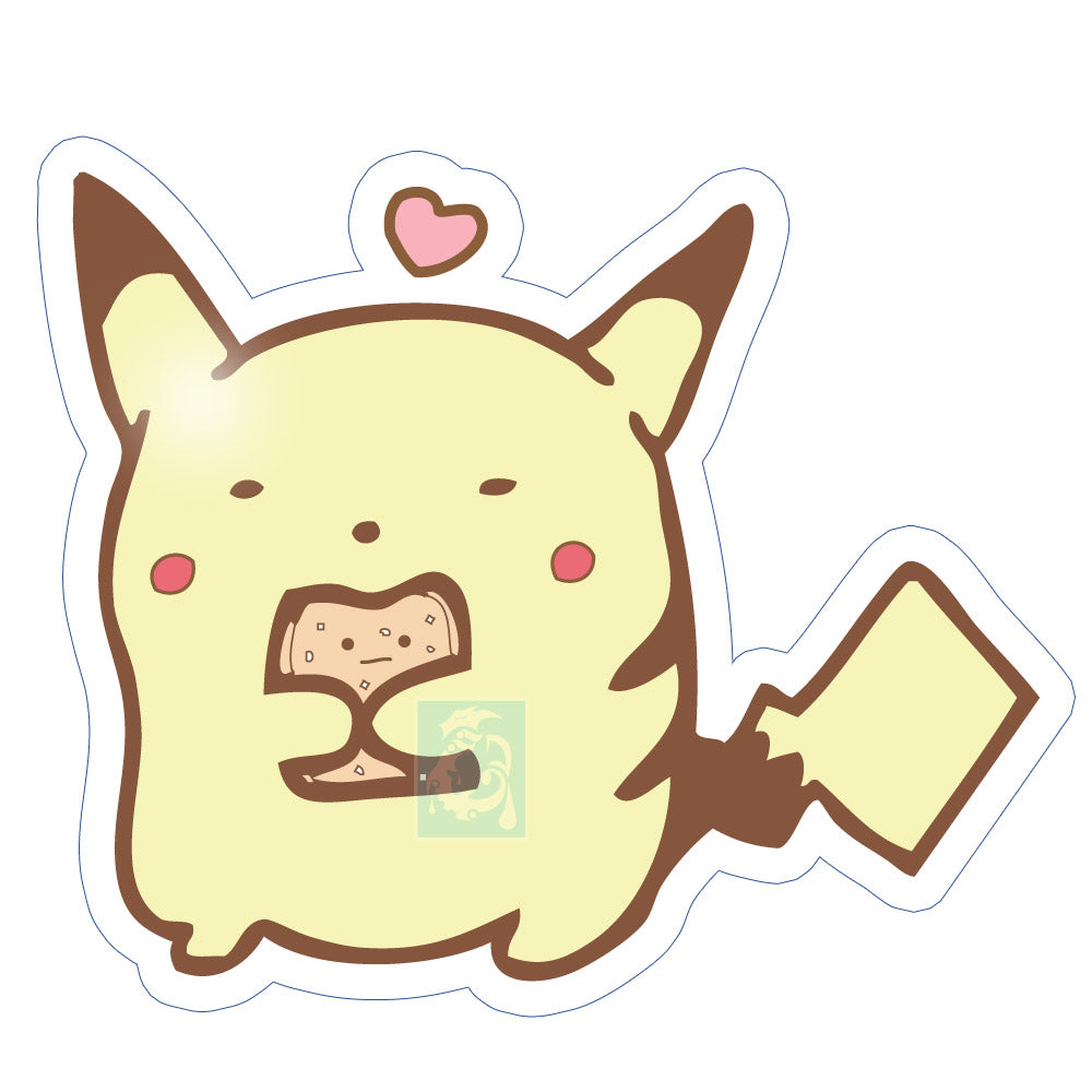 Chibi Pikachu Sticker