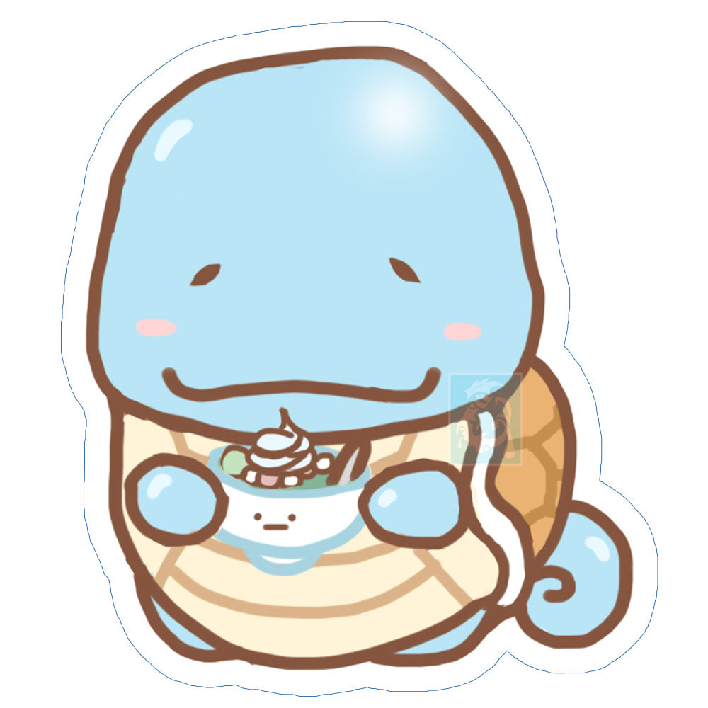 Chibi Squirtle Sticker