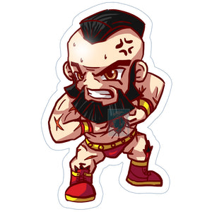 Zangief Sticker