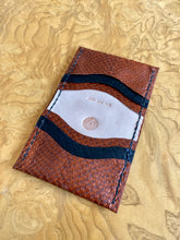 QUAD SLOT FISH SKIN WALLET