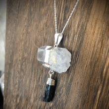 Tourmaline/Quartz Necklace