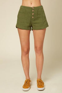 Henley Shorts Green
