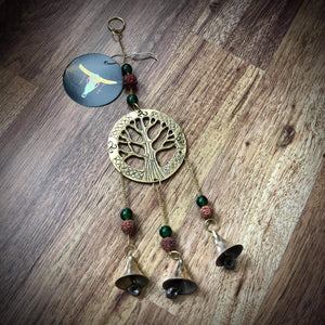 Brass Tree Of Life Bells