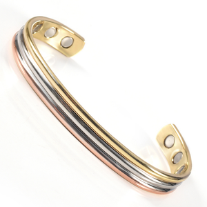 Wellness-Pure-Copper-Magnetic-Therapy-Bracelet-Bangle-For-Arthritis