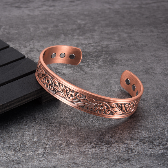 Pure-Copper-Magnetic-Health-Therapy-Bangle-Cuff