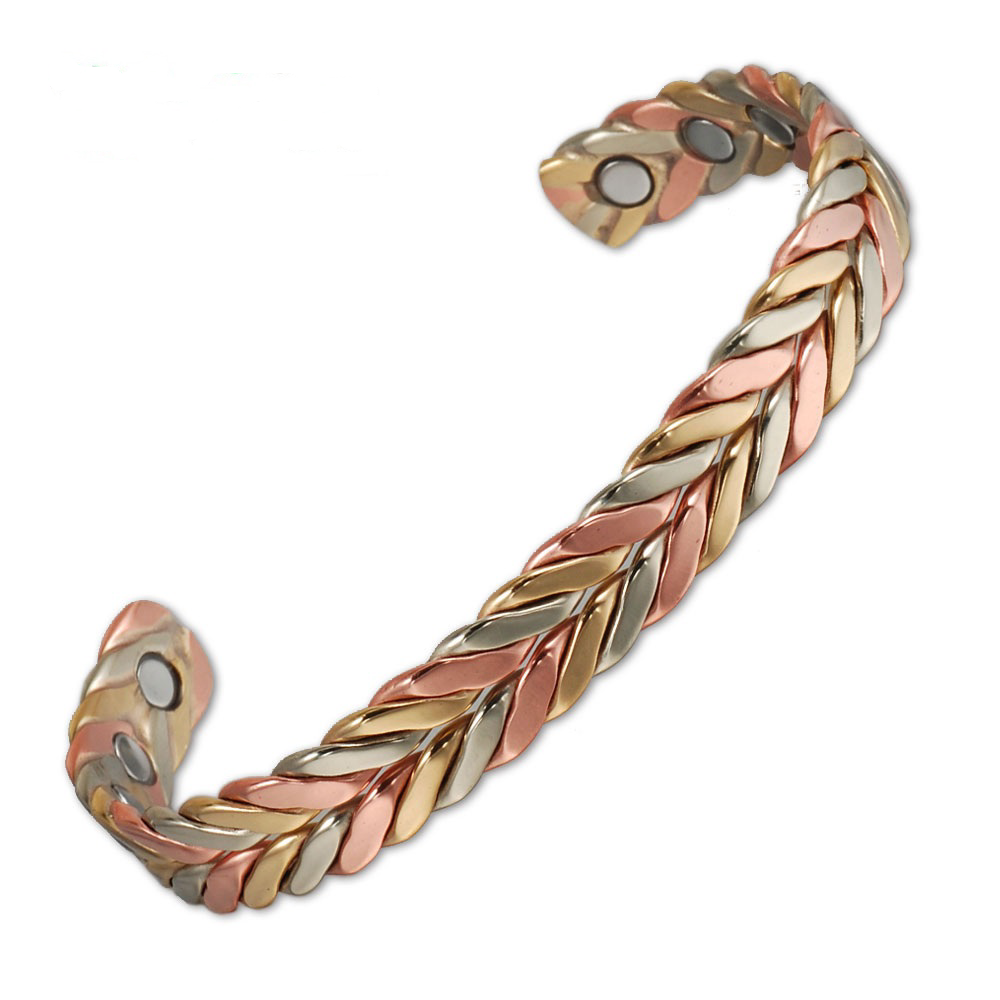 Pure-Copper-Magnetic-Therapy-Bracelet-Bangle-For-Arthritis