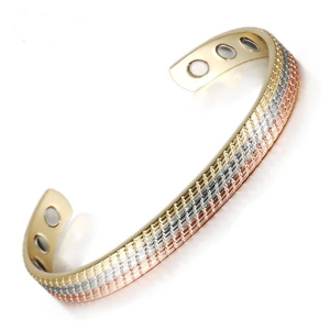Elegant-Pure-Copper-Magnetic-Therapy-Bracelet-Bangle-For-Arthritis-And-Carpal-Tunnel