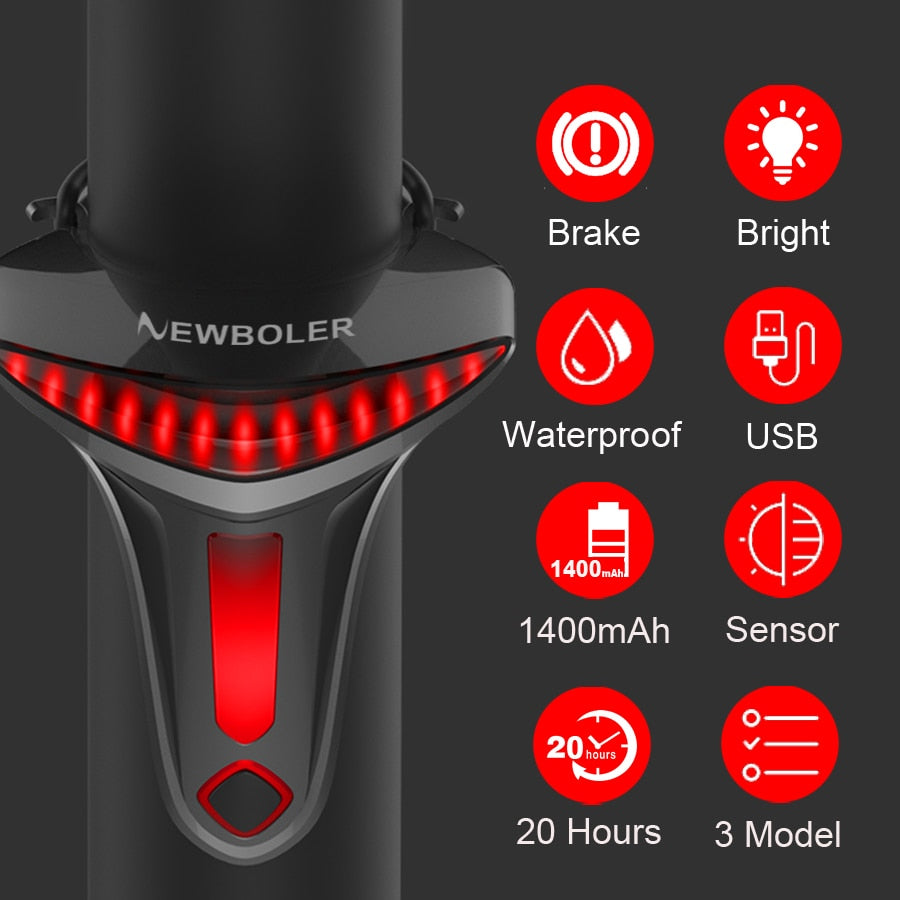 Bike-Bicycle-USB-Rechargeable-LED-Tail-Light-With-Smart-Auto-Sensor