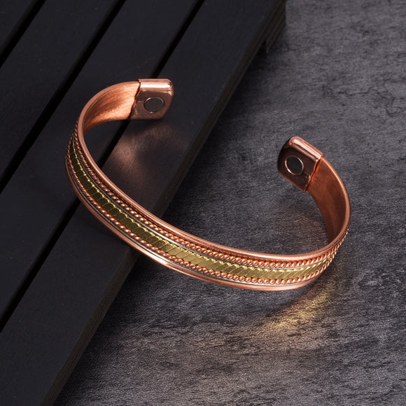 Pure-Copper-Magnetic-Health-Therapy-Bracelet-Cuff