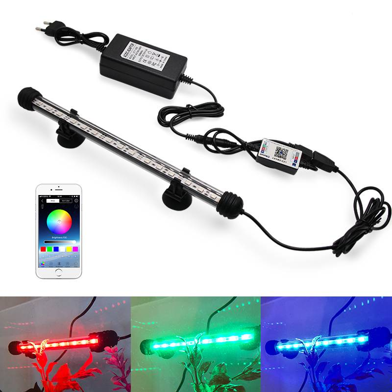 Aquarium-LED-RGB-Submersible-Lighting-With-Mobile-Apps-Controller