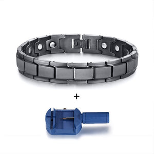 Wellness-Stainless-Steel-Magnetic-Bracelet-For-Men