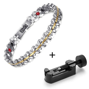 Stainless-Steel-Magnetic-Therapy-Bracelet-For-Women
