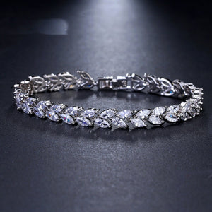 Tennis-Bracelet-Cubic-Zirconia-Cyrstal-For-Women