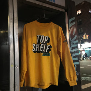 Long Sleeve Yellow T-Shirt