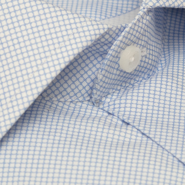 Camisa Business Casual Diseño Círculos