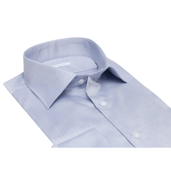 Camisa Vestir Azul Natural Stretch