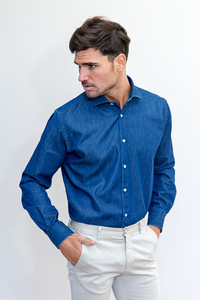 Camisa Informal Denim